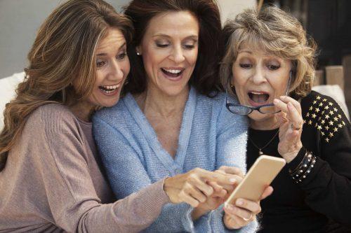 donne in menopausa felici