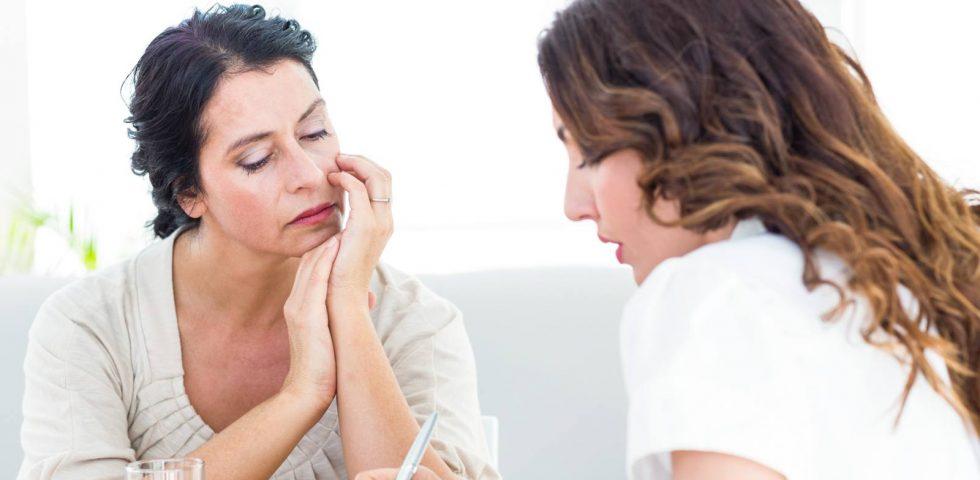aiuto psicologico in menopausa