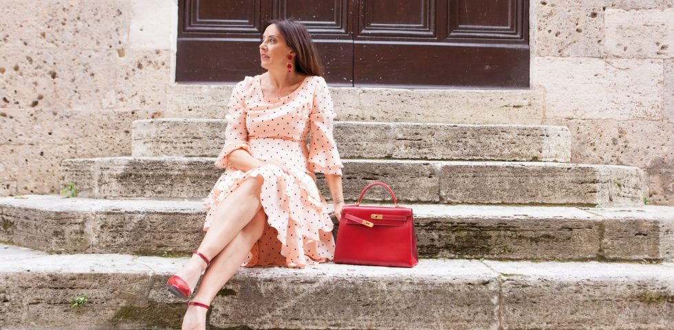 la fashion blogger Rita Palazzi