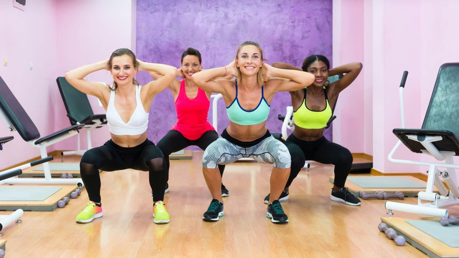 squat donne mature
