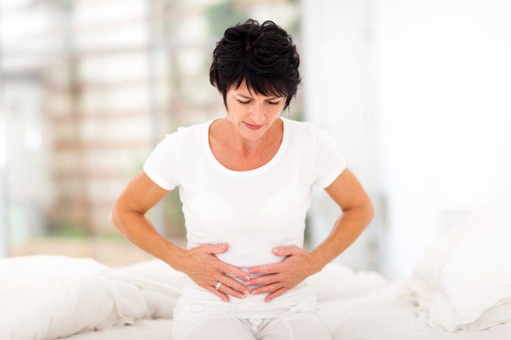 pancia gonfia in menopausa