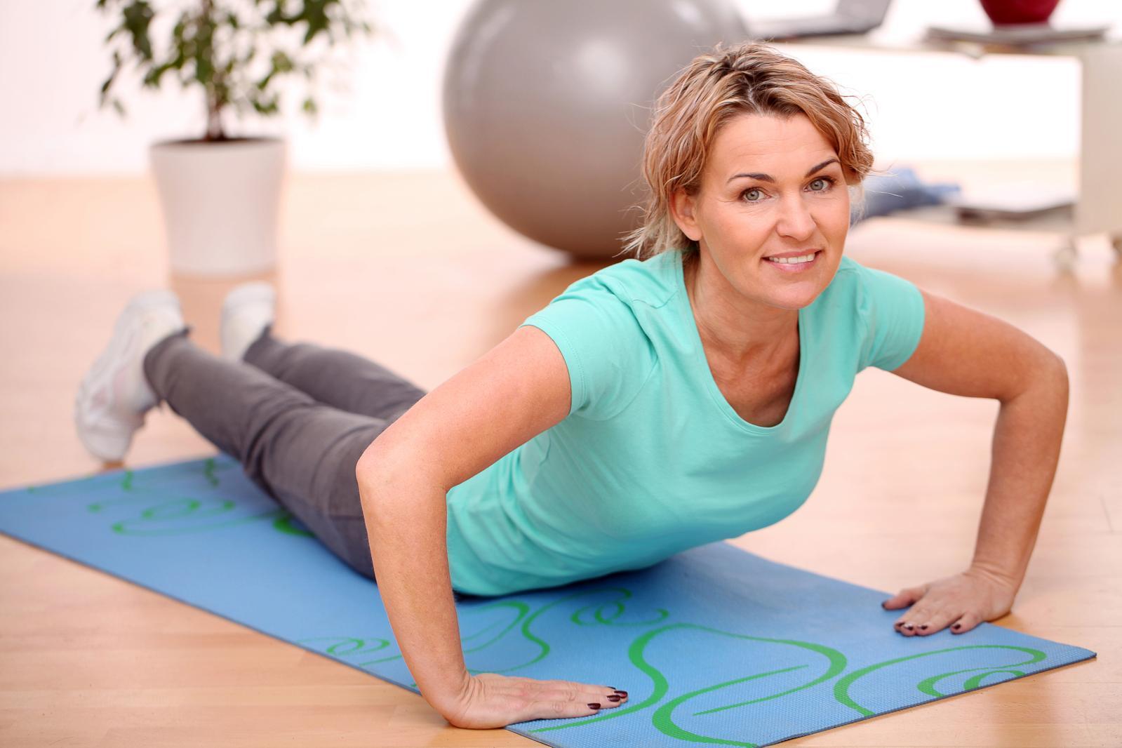 esercizio fisico in perimenopausa