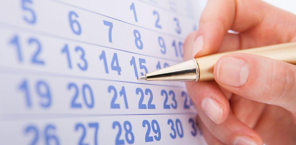 controllare il calendario