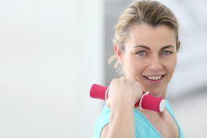 donna perimenopausa in forma