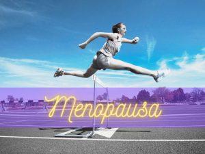 donna supera la menopausa