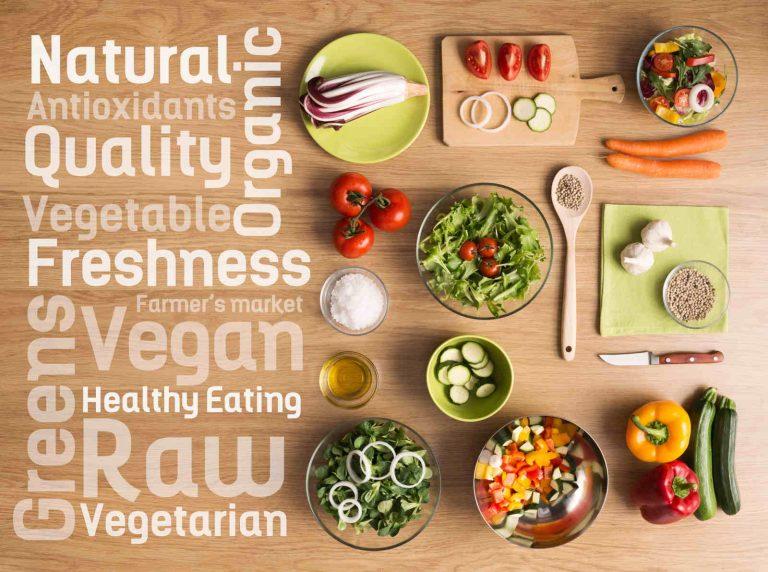 dieta vegan e vegetarian