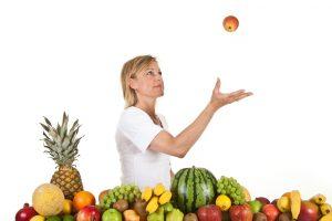 donna fruttariana